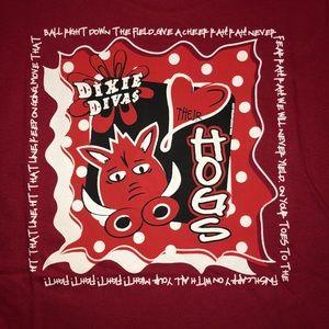 Tops - Hogs Dixie Divas Shirt